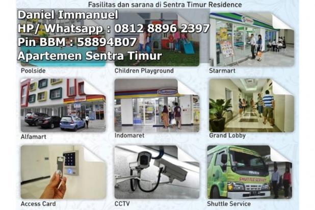 Dijual 2 Kamar Murah Ready Stock At Apartemen Sentra Timur Residence 11612760