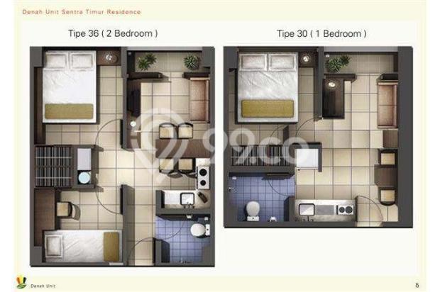 Dijual 2 Kamar Murah Ready Stock At Apartemen Sentra Timur Residence 11612801