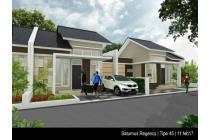 Rumah baru saturnus regency gratis biaya kpr dll