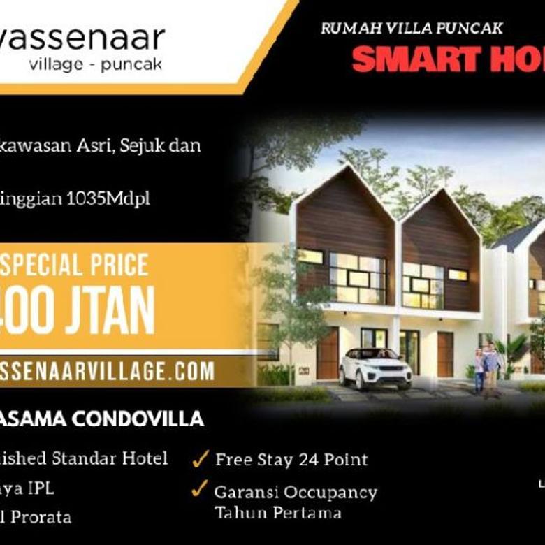 Villa dijual di Cipanas Puncak Harga Promo 400jutaan