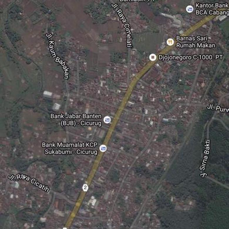 Tanah Cicuruk Cimulati Sukabumi, 1 Km ke Pasar Cicurug
