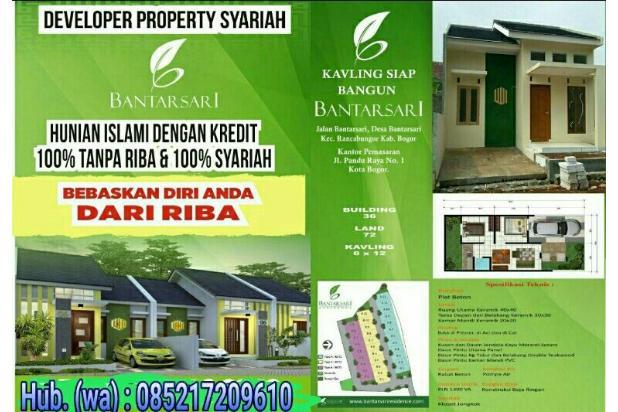 Kavling siap bangun di kota Bogor 17711510