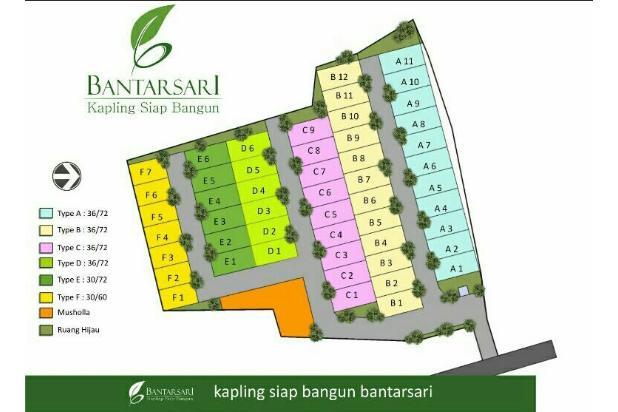 Kavling siap bangun di kota Bogor 17711545