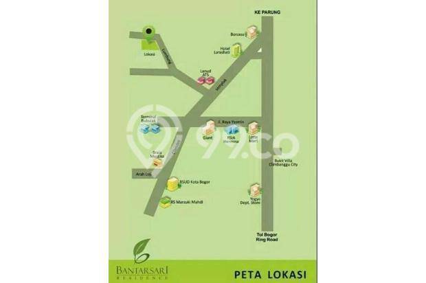 Kavling siap bangun di kota Bogor 17711612