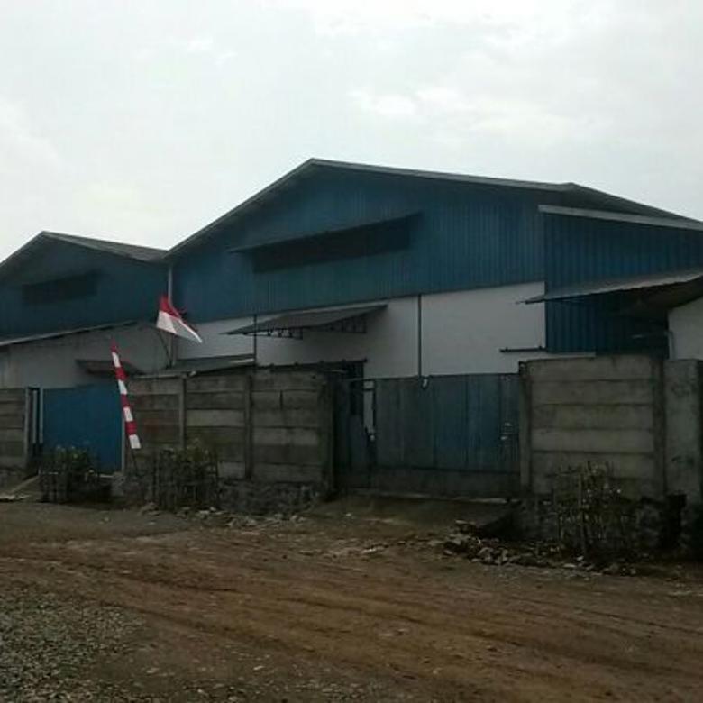 Gudang Sigma Kartika Untuk Industri di Gunung Sindur Bogor