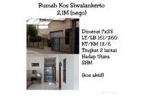 Rumah Kost Siwalankerto (Aktif) Dekat Univ Petra Murah Nego