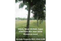 Dijual Tanah Murah Strategis Nol Jalan OERR Pakuwon City Surabaya Timur