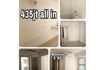 Bassura City 2 kamar bonus 2AC harga 435jt
