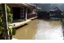 Rumah Villa+Kolam Ikan, 15menit dari pusat kota