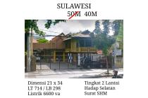 TURUN HARGA Rumah Siap Huni Jalan Sulawesi Gubeng Tengah Kota