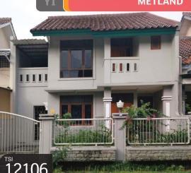 Rumah Metland, Cipondoh, Tangerang, 2 Lt, 7x20, SHM