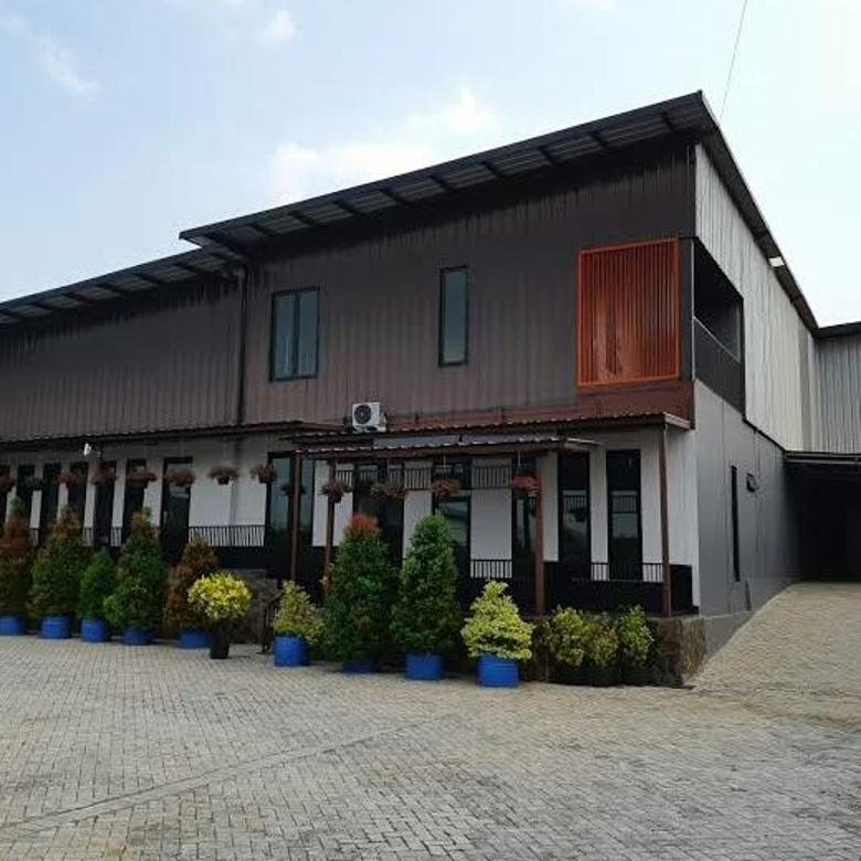Dijual Gudang 15 Milyar di Kawasan Pabrik Gunungsindur - Bogor