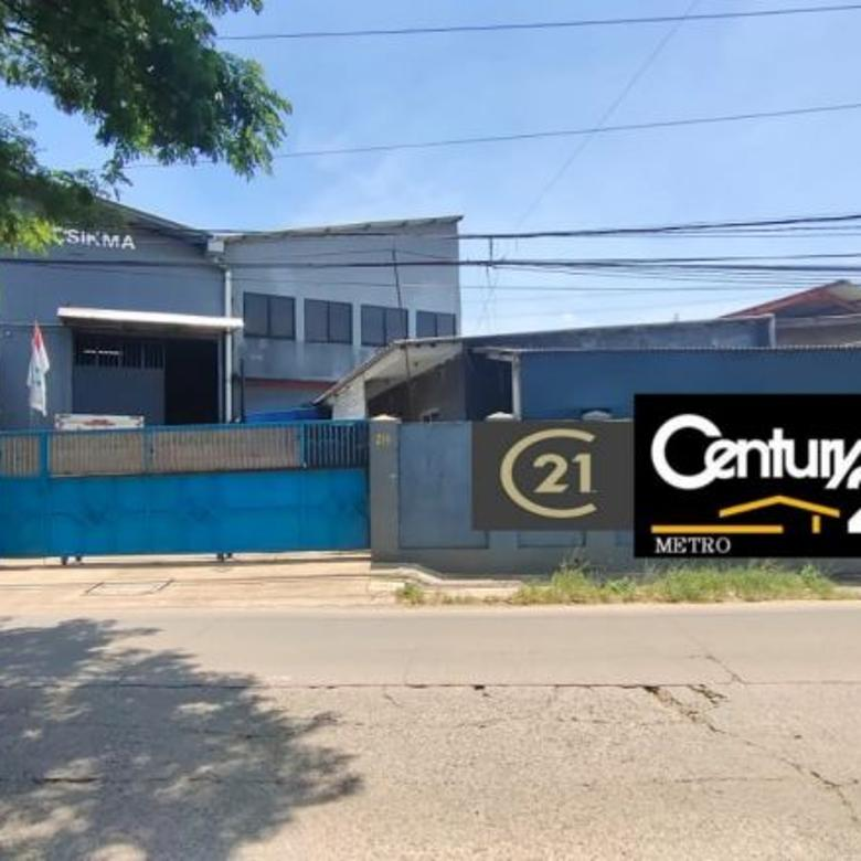 Dijual Cepat Gudang 3 Lantai Ex Pabrik Kawat Nyamuk Jatimulya