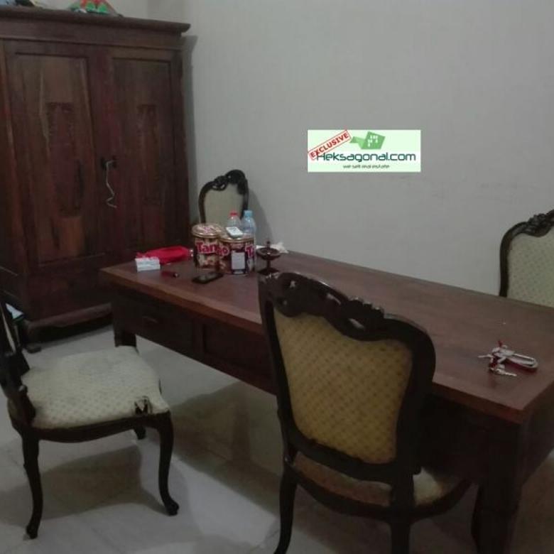 Dijual Rumah 2 unit+perabot blkg Kampus AMNI Semarang Hks4160