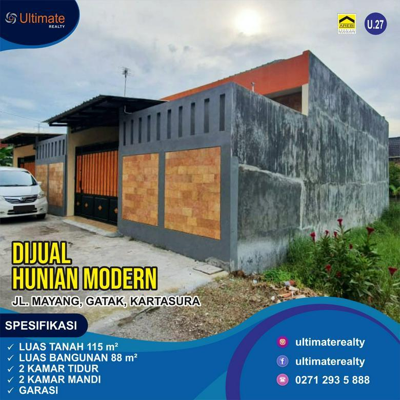 Rumah Modern Murah di Gatak Kartasura