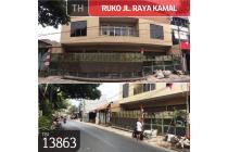 Ruko Jl.Raya Kamal, Jakarta Barat, 14x13m, 3 Lt, SHM