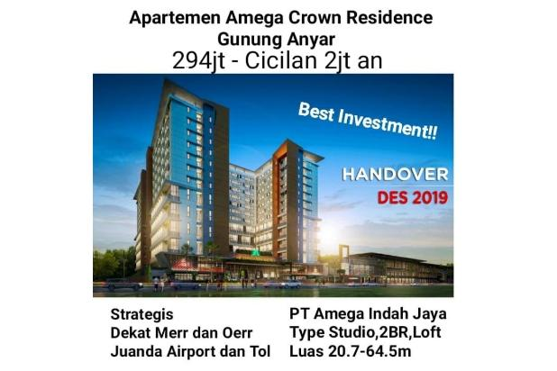 Rp294jt Apartemen Dijual