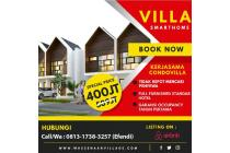 Dijual Villa 2 Lantai Ala Tropical Modern Harga Mulai 400 Juta
