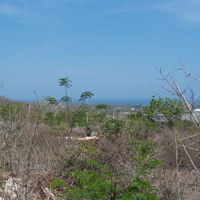 Tanah ocean view murah, pas bangun villa pecatu ungasan bali