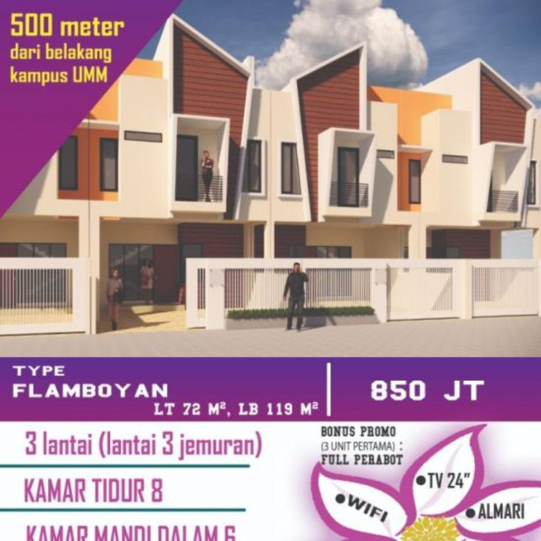 Rumah Kost Belakang Kampus UMM Malang
