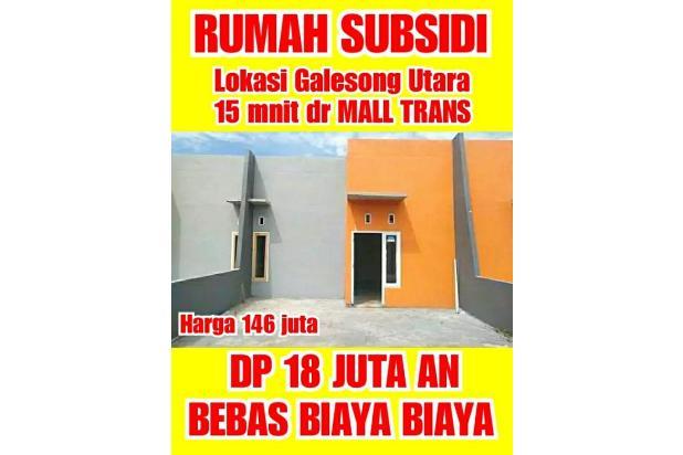 Rp146jt Rumah Dijual