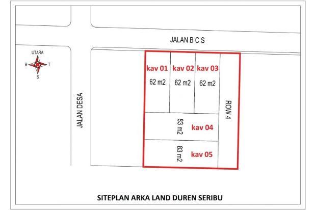 Kaveling Tanah Bojongsari 12X Bayar Dekat Parung 17826704