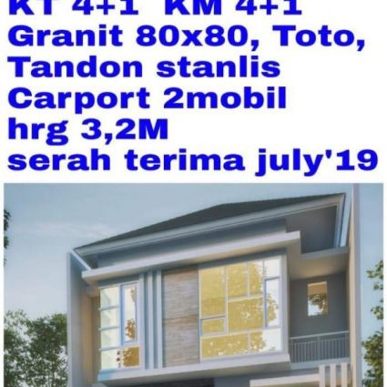 Dijual Rumah Strategis di Manyar Jaya Praja, Surabaya
