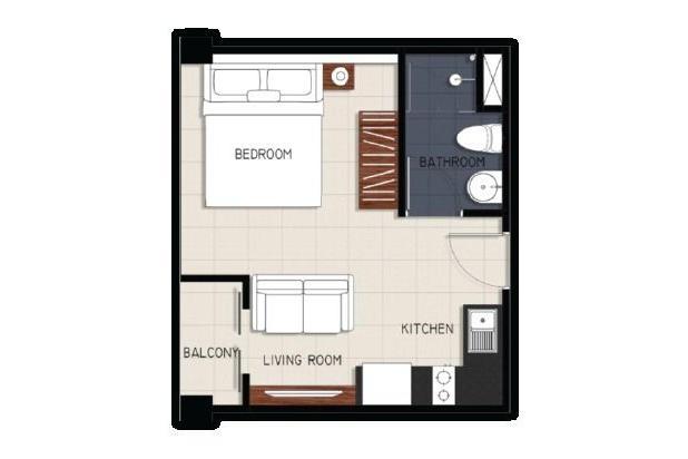 Dijual Apartemen Brooklyn Mewah Harga Lokal Alam Sutera Tangerang Selatan 18354209