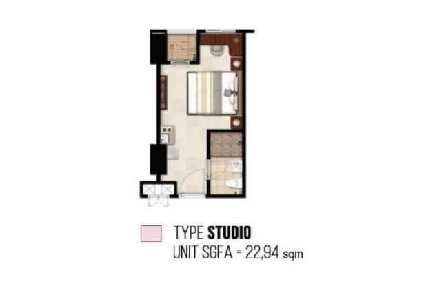 Rp350jt Apartemen Dijual