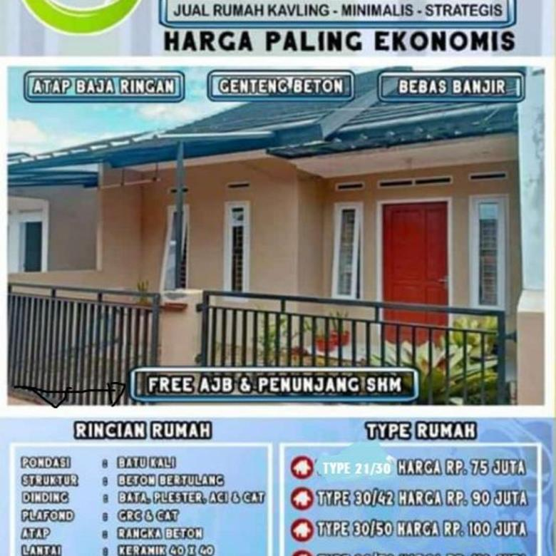 Mulai Berinvestasi di Kabupaten Bandung,Rumah murah minimalis