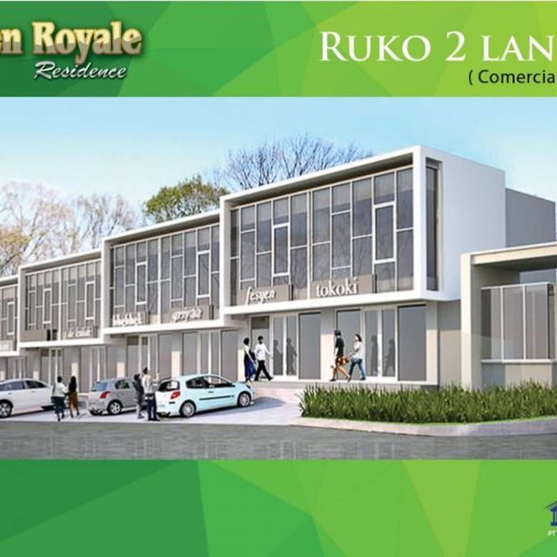 Ruko baru 2 Lantai di cluster mewah, Green Royale Residence