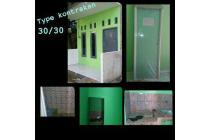Rumah type kontrakan 30/30 cuman satu kamar