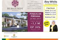 Launching burgundy residence by Summarecon Bekasi mulai 1 M an