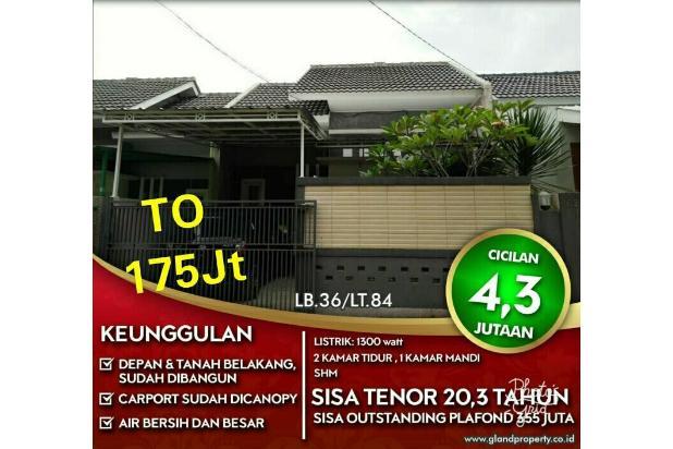 Rumah takeover DP175jtNego,lgsng notaris SHM 10mnt alun2 ujungberung,cibiru 18273981