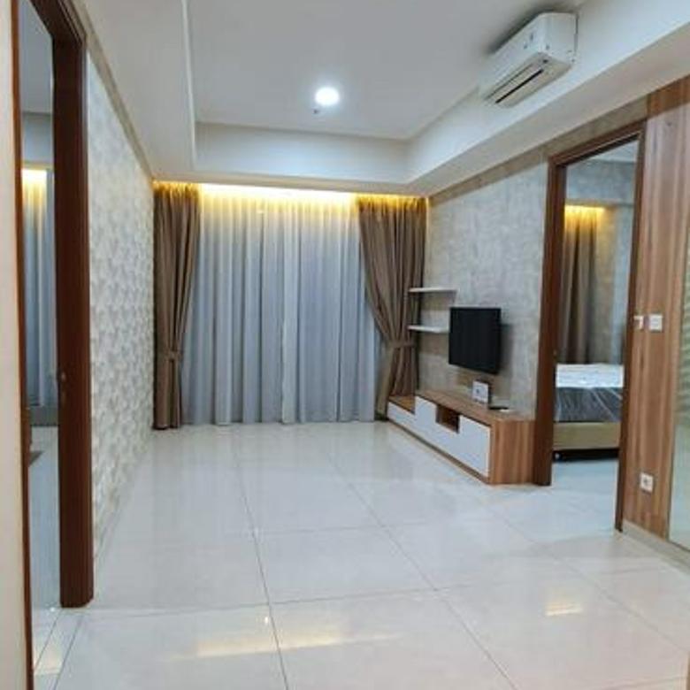 Taman Anggrek Residences,Condo 2BR+1 Fully Furnished Lantai Sedang View Pool Taman Anggrek, Jakarta Barat.