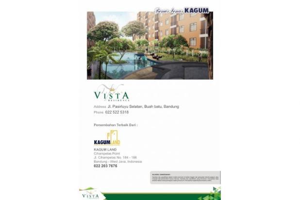 apartement 1 bedroom di buah batu, garden vista residence asri dan nyaman 7608825