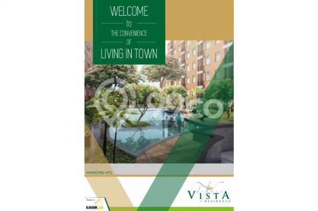 apartement 1 bedroom di buah batu, garden vista residence asri dan nyaman 7608831