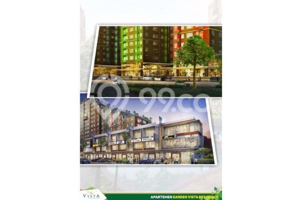 apartement 1 bedroom di buah batu, garden vista residence asri dan nyaman 7608847