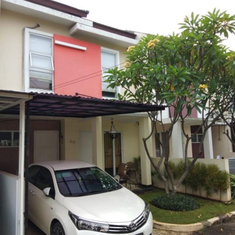 Rumah dijual di Cirendeu, Cluster yg Nyaman, Lok. Strategis