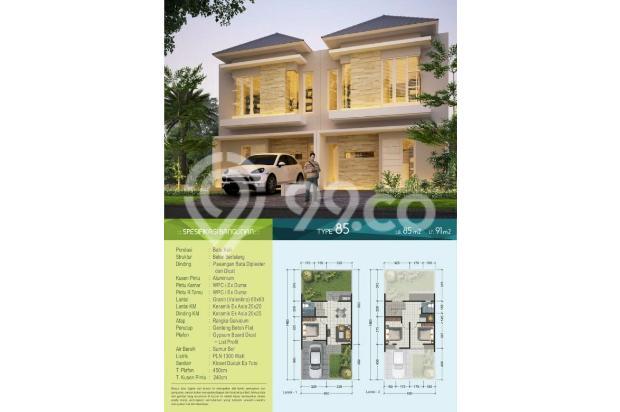 Rumah 2 lantai Rifera Regency dekat Taman Pinang Sidoarjo kota 800 jt an 14365327