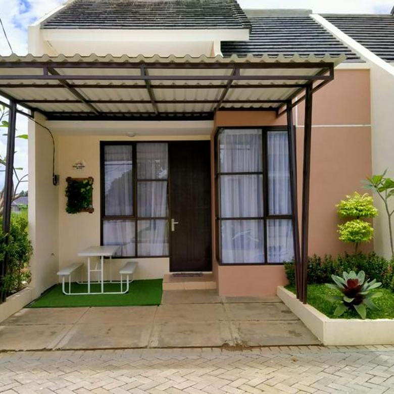 Rumah depan taman, siap huni, tanah luas, cluster nusa, Aryana karawaci, tangerang