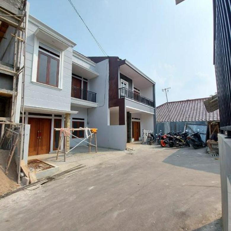 Rumah Baru Dalem cluster Harga nego Deket stasiun Lenteng agung