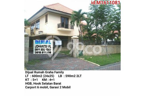 Dijual Rumah  Graha famili, Dekat Pakuwon, Citraland 17326898