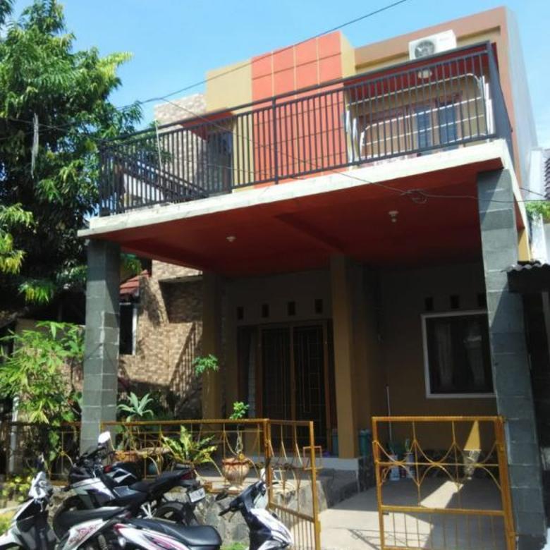Rumah 2 Lantai Strategis Permata Puri 2 Radar Auri Cimanggis