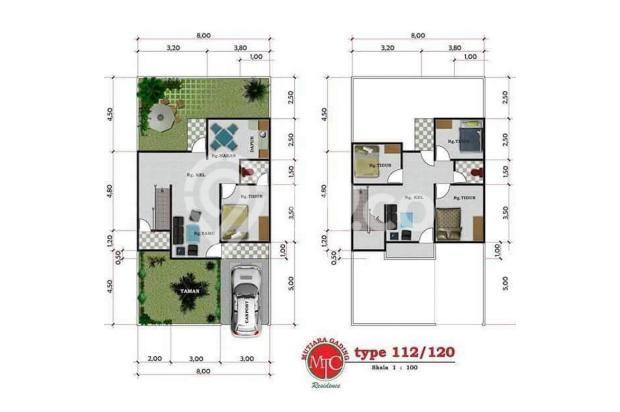 [AA577B] Jual Rumah 4 Kamar 112m2 - Mutiara Gading Residence, Mamuju, Sulaw 19787386