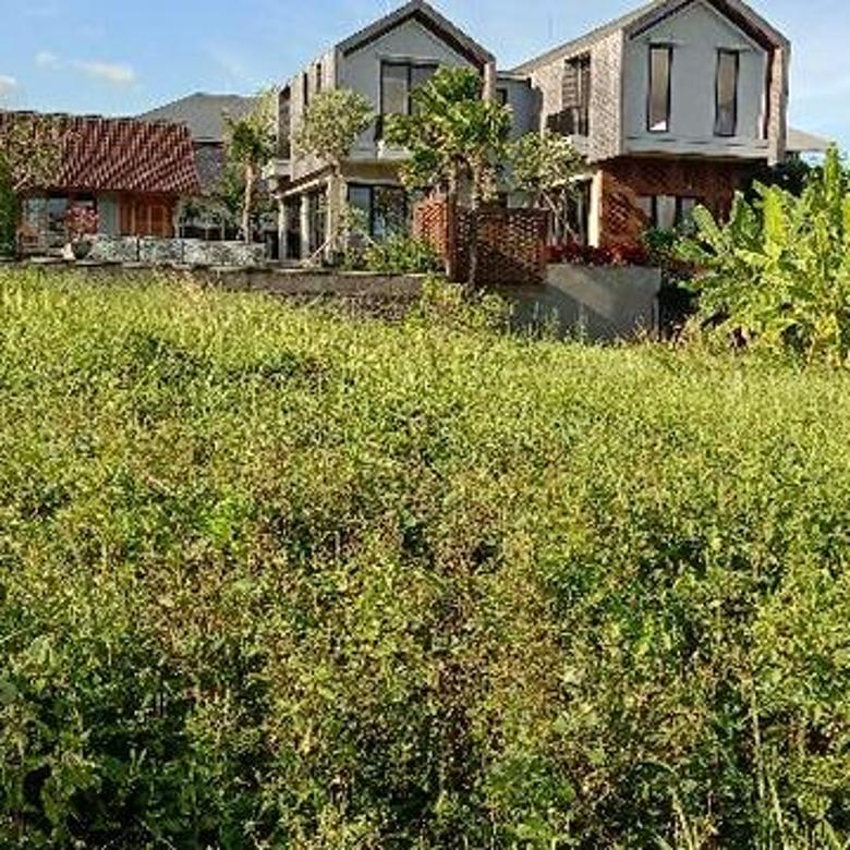 Tanah:700m2(7 are) super murah siap Bangun Di gang angerek pantai Berawa Canggu Badung Bali
