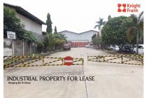 Industrial Property for Lease at jl. Raya Narogong