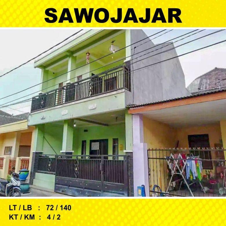 Rumah 2 Lantai Luas 72 di Sawojajar 1 kota Malang _ 22A