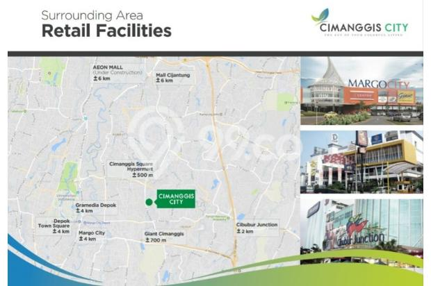 Apartemen Cimanggis City Star 22322230
