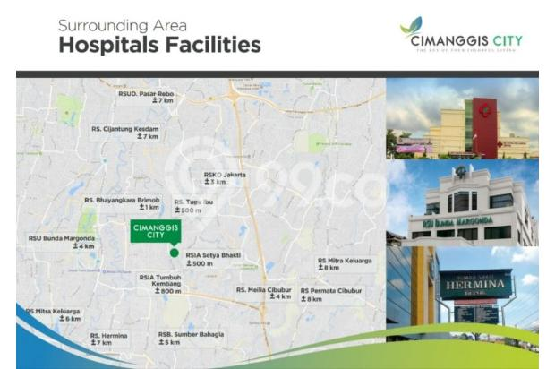 Apartemen Cimanggis City Star 22322229